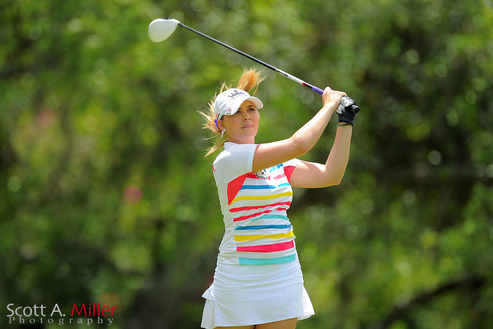 Victoria Elizabeth during the Symetra Tour's Sara Bay Classic at the Sara Bay Country Club on April 22, 2012 in Sarasota, Fla. ..©2012 Scott A. Miller.
