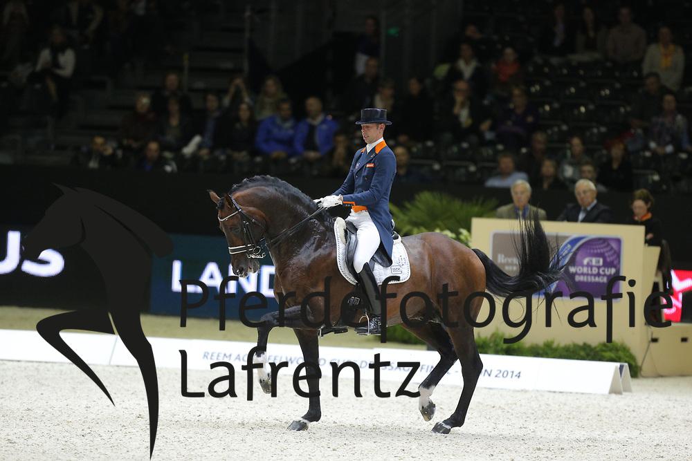 Minderhoud, Hans Peter, Glock´s Johnson TN<br /> Lyon - Weltcup Finale<br /> Kür<br /> © www.sportfotos-lafrentz.de/Stefan Lafrentz