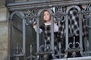 16.04.13. Copenhagen, Denmark.Queen Margrethe II celebrates her 73th birthday with her whole family, Princess Josephine. The royal family appears on the balcony of Christian IX's Palace at Amalienborg Palace.Photo: © Ricardo Ramirez