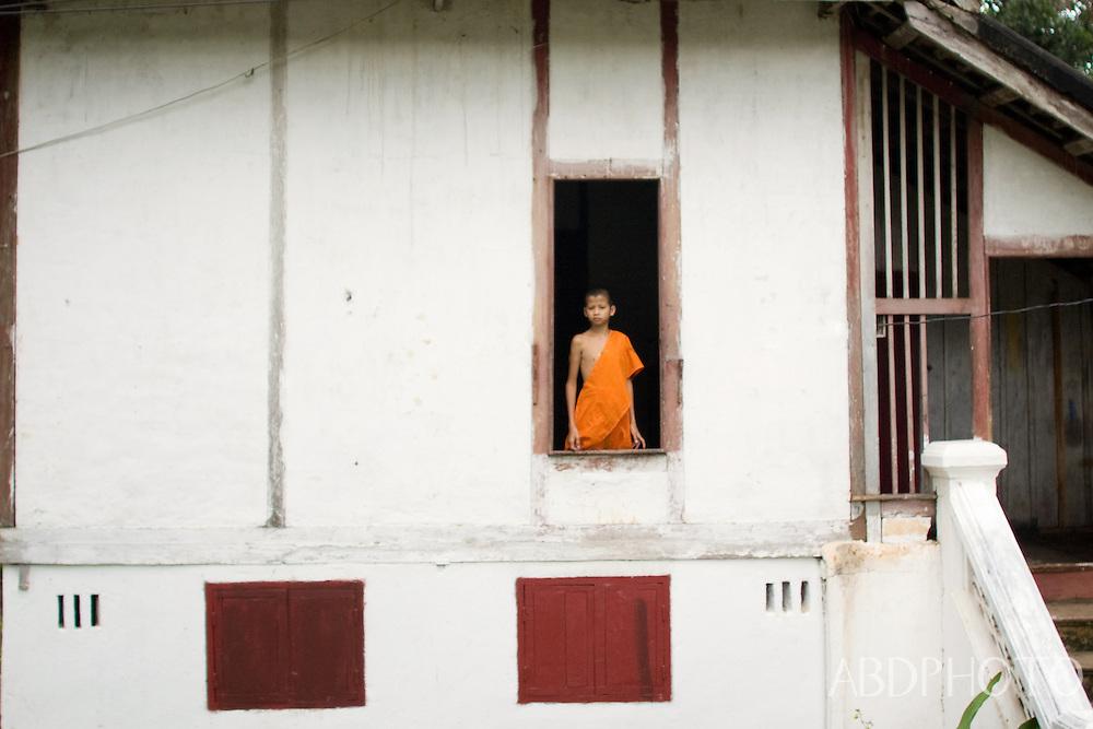 Monks in Luang Prabang Laos