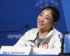 United States Ladies Figure Skating - Press Conference - 18 February 2018