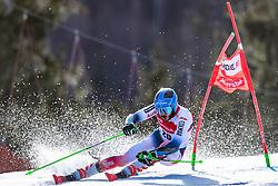 02.03.2020, Hannes Trinkl Weltcupstrecke, Hinterstoder, AUT, FIS Weltcup Ski Alpin, Riesenslalom, Herren, 1. Lauf, im Bild Cyprien Sarrazin (FRA) // Cyprien Sarrazin of France in action during 1st run of men's Giant Slalom of FIS ski alpine world cup at the Hannes Trinkl Weltcupstrecke in Hinterstoder, Austria on 2020/03/02. EXPA Pictures © 2020, PhotoCredit: EXPA/ Johann Groder