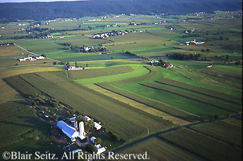 PA landscapes Aerial Photograph Pennsylvania