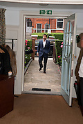 GILES COREN, Freud Museum dinner, Maresfield Gardens. 16 June 2011. <br /> <br />  , -DO NOT ARCHIVE-© Copyright Photograph by Dafydd Jones. 248 Clapham Rd. London SW9 0PZ. Tel 0207 820 0771. www.dafjones.com.