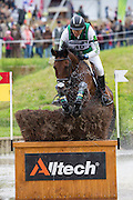 Bill Levett, (AUS), Shannondale Titan - Eventing Cross Country test - Alltech FEI World Equestrian Games™ 2014 - Normandy, France.<br /> © Hippo Foto Team - Leanjo de Koster<br /> 31/08/14