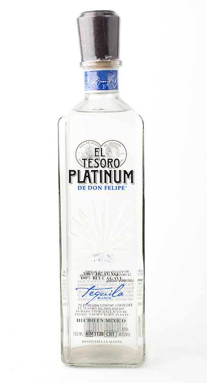 El Tesoro de Don Felipe Platinum -- Image originally appeared in the Tequila Matchmaker: http://tequilamatchmaker.com