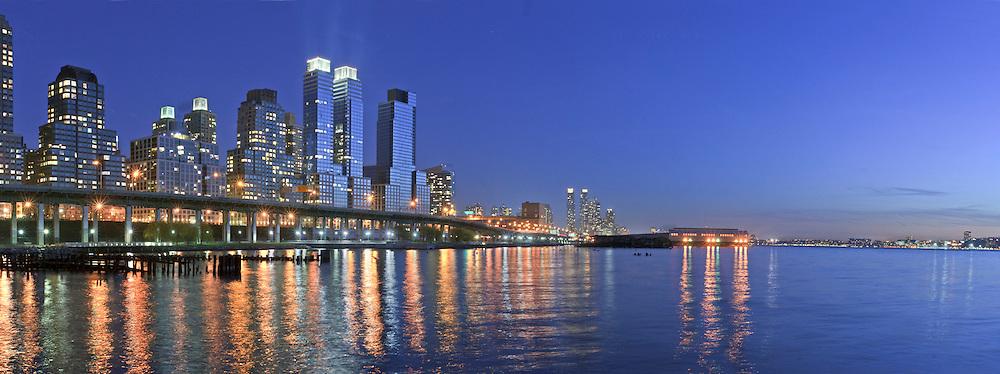Trump Place,  Riverside Park, Riverside South, Upper West Side,  Manhattan, New York City, New York, USA