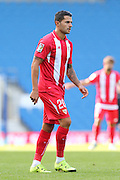 Vitolo during the Pre-Season Friendly match between Brighton and Hove Albion and Sevilla at the American Express Community Stadium, Brighton and Hove, England on 2 August 2015. Photo by Stuart Butcher.