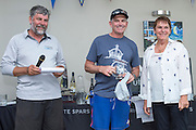 2014 A Class World Championships prize giving. Takapuna Sailing Club, Auckland. 16/2/2014