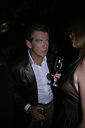 PIERCE BROSNAN, The Summer Party in association with Swarovski. Co-Chairs: Zaha Hadid and Dennis Hopper, Serpentine Gallery. London. 11 July 2007. <br />