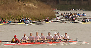 Chiswick, LONDON, ENGLAND, 25.03.2006, Kingston I,at the start,2006 Head of the River Race. Mortlake to Putney. © Peter Spurrier/Intersport-images.com. 2006 Men's Head of the River Race, Rowing Course: River Thames, Championship course, Putney to Mortlake 4.25 Miles 2006 Men's Head of the River Race, Rowing Course: River Thames, Championship course, Putney to Mortlake 4.25 Miles