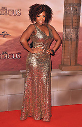 Dominique Moore attends the German premiere of the film 'The Physician' at Zoo Palast,  Berlin, Germany, Monday, 16th December 2013. Picture by  Schneider-Press / i-Images<br /> UK & USA ONLY
