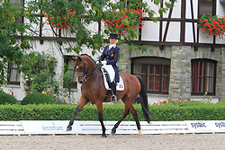 Goris Noemie (BEL) - Wunderbar NG<br /> European Championships Junior 2010<br /> © Hippo Foto - Leanjo de Koster