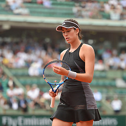 Garbine Muguruza of Spain during Day 11 of the French Open 2018 on June 6, 2018 in Paris, France. (Photo by Dave Winter/Icon Sport)