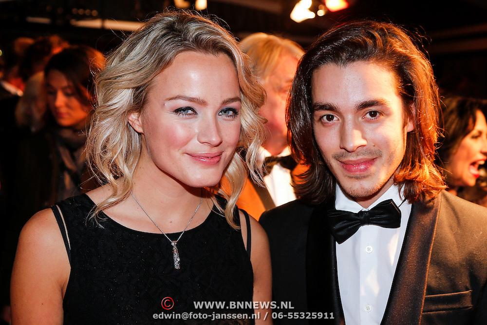 NLD/Amsterdam/20130109 - Filmpremiere Les Misarables, Tess Milne en ..............