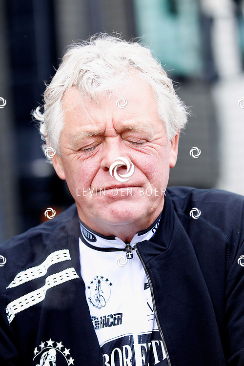 AMSTERDAM - Bij de hoofdsponsor Boretti is het nieuwe Sterrenfietsteam voor 2013 bekend gemaakt. Met op de foto  John Rep. FOTO LEVIN DEN BOER - PERSFOTO.NU