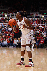 Dec 20, 2011; Stanford CA, USA; Stanford Cardinal forward Nnemkadi Ogwumike (30) holds the ball against the Tennessee Lady Volunteers during the second half at Maples Pavilion.  Stanford defeated Tennessee 97-80. Mandatory Credit: Jason O. Watson-US PRESSWIRE