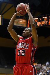 March 16, 2011; Berkeley, CA, USA;  Mississippi Rebels guard Zach Graham (32) shoots a three point jump shot against the California Golden Bears during the first half of the first round of the National Invitation Tournament at Haas Pavilion.