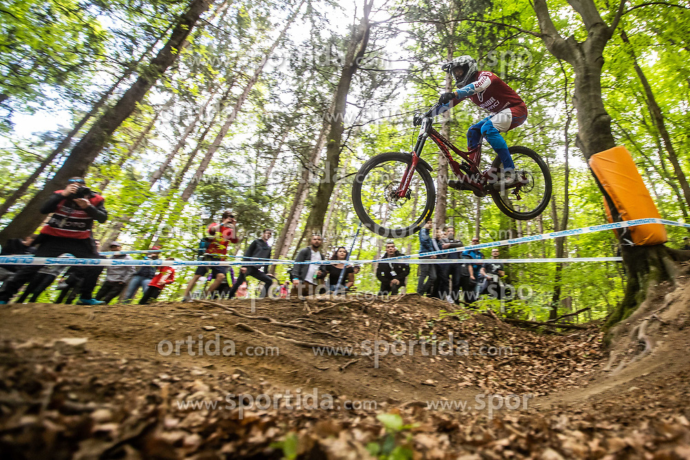Dakotah Norton of USA during Mercedes-Benz UCI Mountain Bike World Cup competition final day in Bike Park Pohorje, Maribor on 28th of April, 2019, Slovenia.  . Photo by Grega Valancic / Sportida