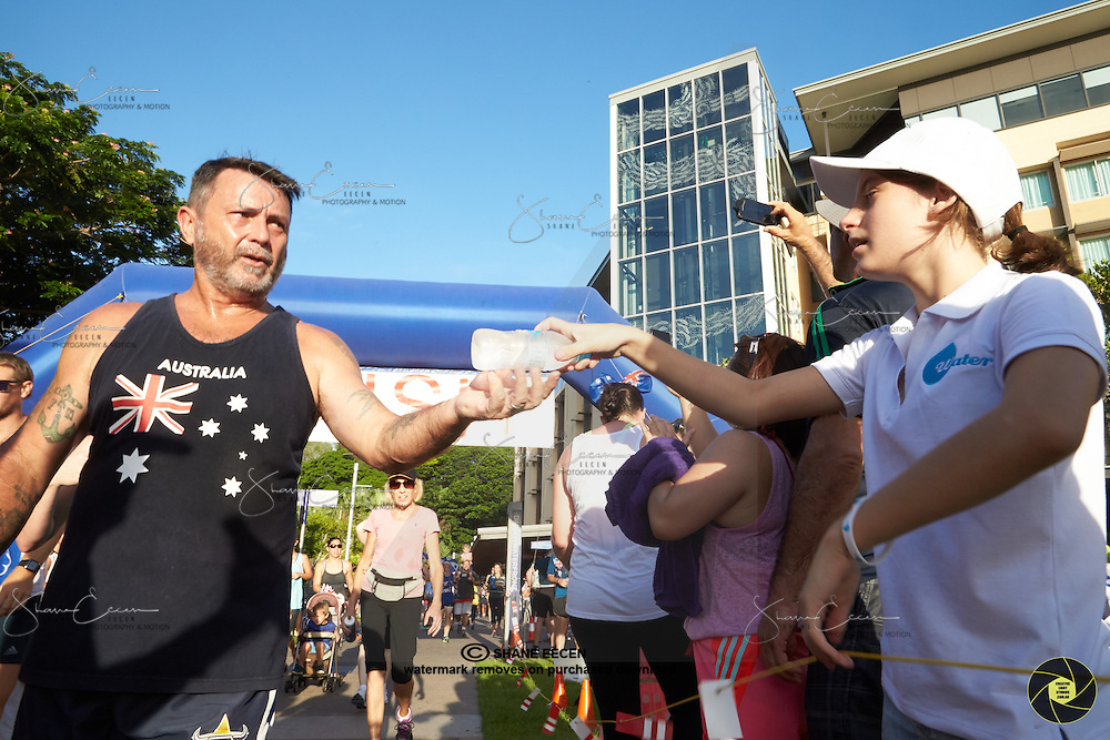 Australia Day Fun Run at the Darwin Waterfront 26 January 2015.NT Beverages. Photo Shane Eecen/Creative Light Studios