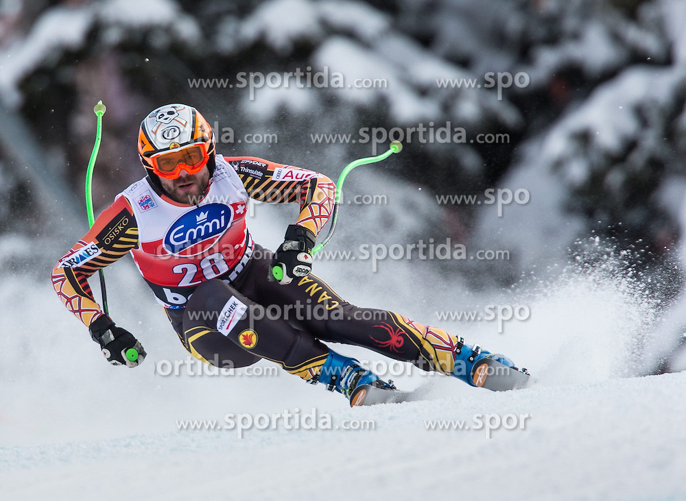 29.12.2013, Stelvio, Bormio, ITA, FIS Ski Weltcup, Bormio, Abfahrt, Herren, im Bild Jan Hudec (CAN) // Jan Hudec of Canada in action during mens downhill of the Bormio FIS Ski Alpine World Cup at the Stelvio Course in Bormio, Italy on 2013/12/29. EXPA Pictures © 2013, PhotoCredit: EXPA/ Johann Groder