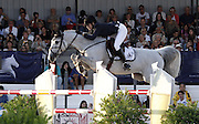 14.JUNE.2012. CANNES<br /> <br /> ATHINA ONASSIS RIDES HER HORSE DURING THE 31ST INTERNATIONAL CANNES JUMPING.  <br /> <br /> BYLINE: EDBIMAGEARCHIVE.CO.UK<br /> <br /> *THIS IMAGE IS STRICTLY FOR UK NEWSPAPERS AND MAGAZINES ONLY*<br /> *FOR WORLD WIDE SALES AND WEB USE PLEASE CONTACT EDBIMAGEARCHIVE - 0208 954 5968*