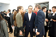 CHARLOTTE CASIRAGHI; ALEX DELLAL; SIMON DE PURY, Hoxton Sq projects auction in aid of Shelter. .- Hoxton sq. Gallery. 24 November 2010. . -DO NOT ARCHIVE-© Copyright Photograph by Dafydd Jones. 248 Clapham Rd. London SW9 0PZ. Tel 0207 820 0771. www.dafjones.com.