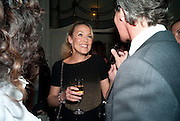 JERRY HALL, Dinner to mark 50 years with Vogue for David Bailey, hosted by Alexandra Shulman. Claridge's. London. 11 May 2010