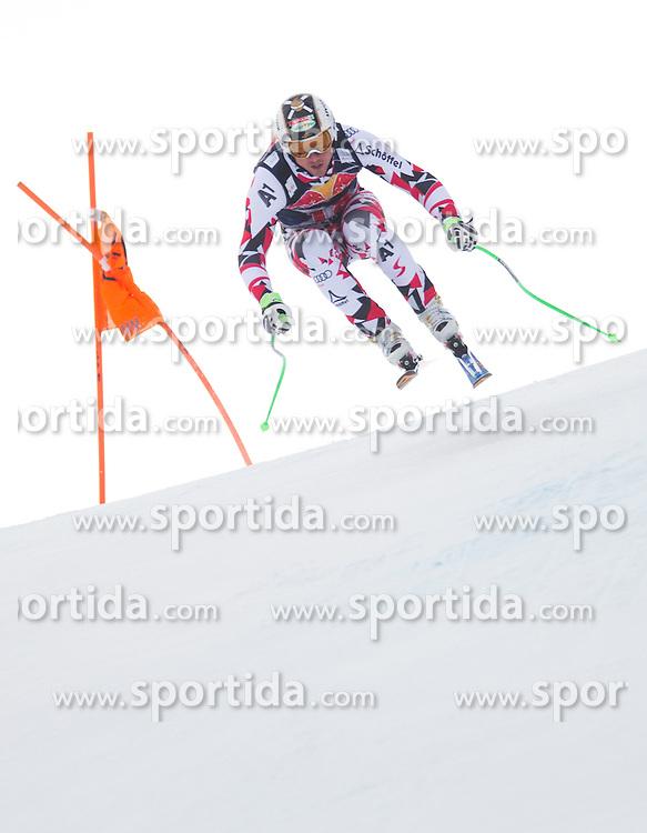 19.01.2016, Streif, Kitzbuehel, AUT, FIS Weltcup Ski Alpin, Kitzbuehel, 1. Abfahrtstraining, Herren, im Bild Hannes Reichelt (AUT) // Hannes Reichelt of Austria in action during 1st Training of the men's Downhill Race of Kitzbuehel FIS Ski Alpine World Cup at the Streif in Kitzbuehel, Austria on 2016/01/19. EXPA Pictures © 2016, PhotoCredit: EXPA/ Johann Groder
