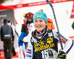 3rd placed HROVAT Meta of Slovenia after the 2nd Run during the Ladies' GiantSlalom at 56th Golden Fox event at Audi FIS Ski World Cup 2019/20, on February 15, 2020 in Podkoren, Kranjska Gora, Slovenia. Photo by Matic Ritonja / Sportida