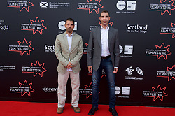 "Left to right on the red carpet, Directors Paul Shammasian and Ludwig Shammmasian during the Edinburgh International Film Festival Premier of ""Romans"" at Cineworld Edinburgh, Saturday 1st July 2017(c) Brian Anderson 