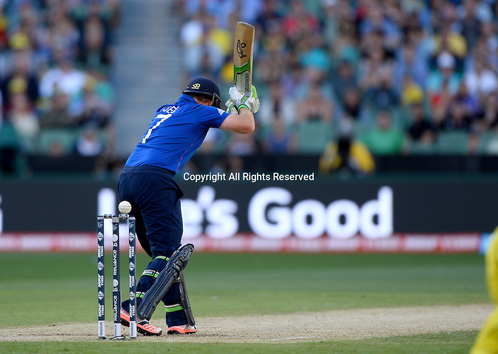 Ian Bell (ENG)<br /> Australia vs England / Match 2<br /> 2015 ICC Cricket World Cup / Pool A<br /> MCG / Melbourne Cricket Ground <br /> Melbourne Victoria Australia<br /> Saturday 14 February 2015<br /> &copy; Sport the library / Jeff Crow
