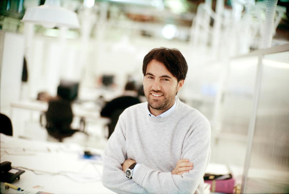 25 JAN 2001 - Treviso - Staff E-TREE, siti e portali web - Riccardo Donadon, fondatore e socio