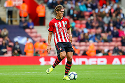 Jannik Vestergaard of Southampton - Mandatory by-line: Ryan Hiscott/JMP - 12/08/2018 - FOOTBALL - St Mary's Stadium - Southampton, England - Southampton v Burnley - Premier League