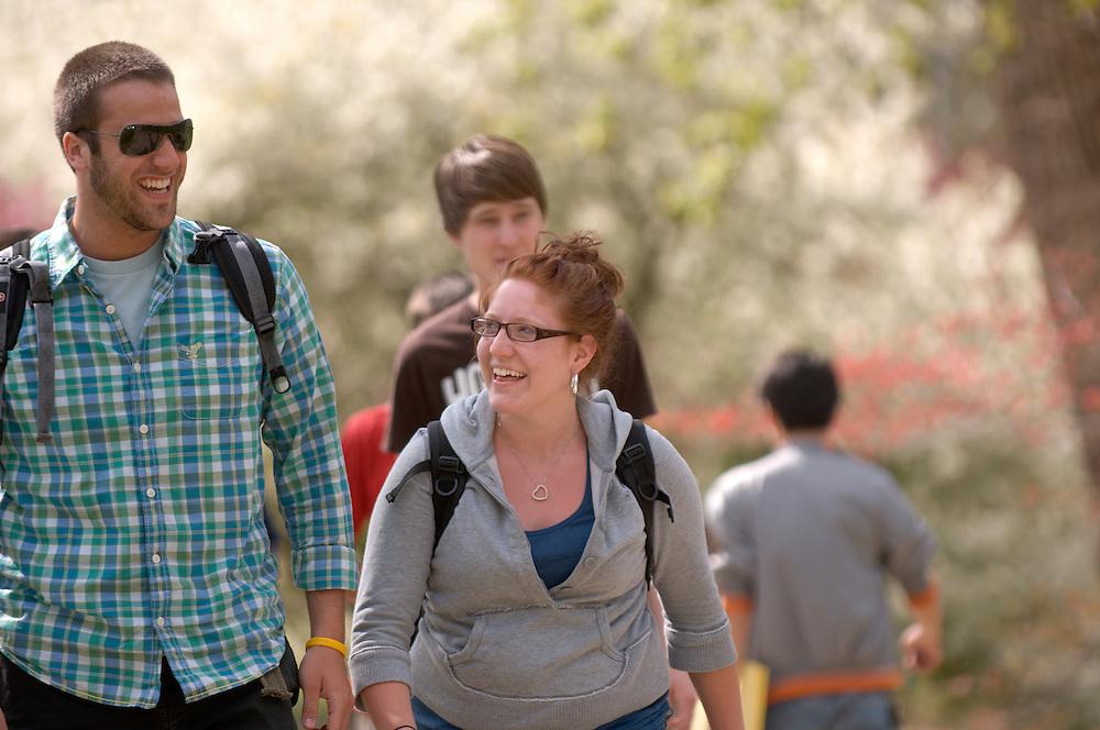 Spring Campus..Matthew Debiec & Rachel Denbow