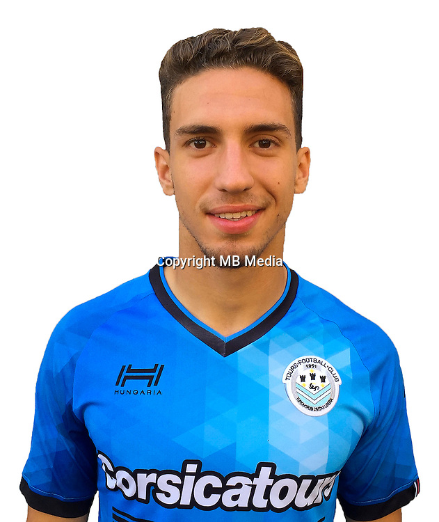 Hugo Mesbah during photocall of Tours FC for new season of Ligue 2 on October 9th 2016<br /> Photo : Fct / Icon Sport
