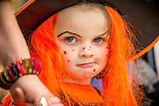 Rep Free No Charge for Repro<br /> <br /> 31-10-15<br /> <br /> Market Cross celebrated the Festival of Halloween with Ghostly Statues, Jack O Lanterns and lots of Ghouls!<br /> <br /> Pictured at the Halloween event was Ellie Kealy aged 3 from Paulstown Co. Kilkenny. <br /> Picture Dylan Vaughan.