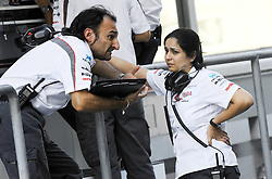 12.11.2011, Yas-Marina-Circuit, Abu Dhabi, UAE, Grosser Preis von Abu Dhabi, im Bild Monisha Kaltenborn (AUT), Sauber F1 Team, Managing Director  // during the Formula One Championships 2011 Large price of Abu Dhabi held at the Yas-Marina-Circuit, 2011/11/12. EXPA Pictures © 2011, PhotoCredit: EXPA/ nph/ Dieter Mathis..***** ATTENTION - OUT OF GER, CRO *****