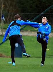 Everton's Wayne Rooney (right) during the training session at Finch Farm, Liverpool. PRESS ASSOCIATION Photo. Picture date: Wednesday November 22, 2017. See PA story SOCCER Everton. Photo credit should read: Peter Byrne/PA Wireduring the training session at Finch Farm, Liverpool. PRESS ASSOCIATION Photo. Picture date: Wednesday November 22, 2017. See PA story SOCCER Everton. Photo credit should read: Peter Byrne/PA Wire