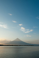 Majestic Mayon volcano, situated in the Bicol Region in the south of Luzon Island, the Philippines, is visible from almost every place in the province of Albay. 2462 meters above the sea level is still active and dangerous, but incredibly beautiful for its perfect cone shape.