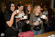 SERENA REES; KATIE GRAND; CHARLOTTE TILBURY;  LUELLA BARTLEY, Kate Grand hosts a Love Tea and Treasure hunt at Flash. Royal Academy. Burlington Gardens. London. 10 december 2008 *** Local Caption *** -DO NOT ARCHIVE-© Copyright Photograph by Dafydd Jones. 248 Clapham Rd. London SW9 0PZ. Tel 0207 820 0771. www.dafjones.com.<br /> SERENA REES; KATIE GRAND; CHARLOTTE TILBURY;  LUELLA BARTLEY, Kate Grand hosts a Love Tea and Treasure hunt at Flash. Royal Academy. Burlington Gardens. London. 10 december 2008
