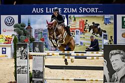 Bormann Finja, GER, A Crazy Son of Lavina<br /> Grand Prix <br /> Braunschweig - Löwenclassics 2019<br /> © Hippo Foto - Stefan Lafrentz