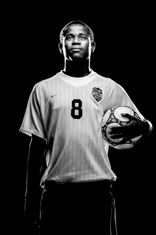 Golden Gate High School's Raphael Rifin, 2009-2010 Boy's Soccer Player of the Year. David Albers/Staff