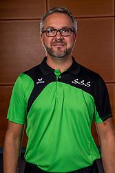 11-10-2017 NED: Selectie SSS 2017-2018, Barneveld<br /> De spelers van eredivisie club SSS voor het seizoen 2017-2018 / Trainer/coach Olaf Ratterman of SSS