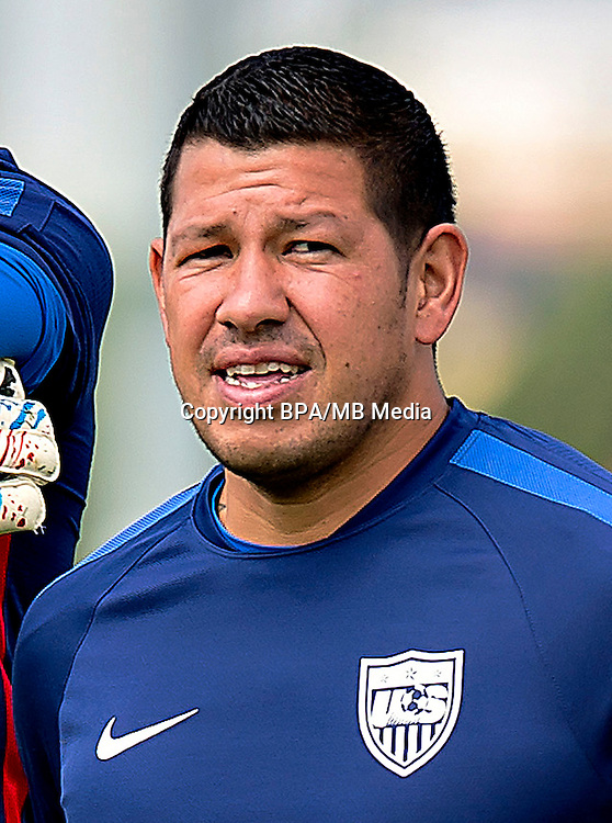 Concacaf- World Cup Fifa Russia 2018 Qualifyer - <br /> USA Soccer National Team - <br /> Nick Rimando