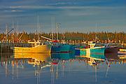 Fhisng boats, Shag Harbour, Nova Scotia, Canada