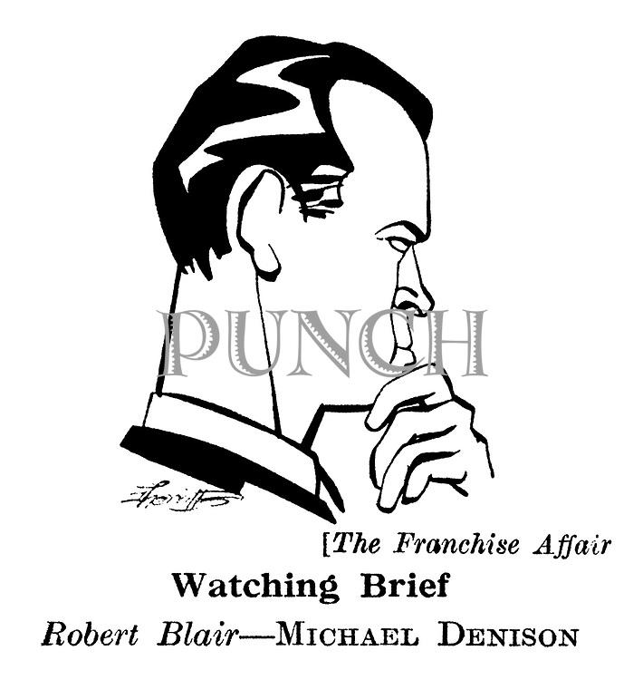 The Franchise Affair ; Michael Denison