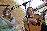 Patty Arnold and Sandy Hathaway concert at the 2013 Tucson Folk Festival.