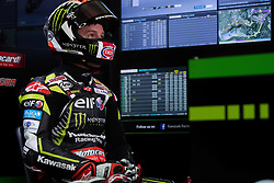 May 10, 2019 - Imola, BO, Italy - Jonathan Rea of Kawasaki Racing Team WorldSBK at box during the free practice 1 of the Motul FIM Superbike Championship, Italian Round, at International Circuit ''Enzo and Dino Ferrari'', on May 10, 2019 in Imola, Italy  (Credit Image: © Danilo Di Giovanni/NurPhoto via ZUMA Press)
