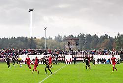 Stadium in Kidricevo during 2nd Leg football match between NK Aluminij and NK Olimpija Ljubljana in Quarterfinals of Slovenian Cup 2016/17, on October 26, 2016 in Kidricevo, Slovenia. Photo by Vid Ponikvar / Sportida